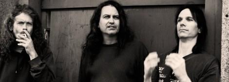 PUPPETEERS: Cris Kirkwood, Curt Kirkwood and drummer Shandon Sahm.