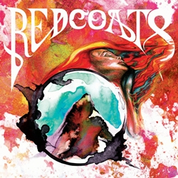 The psychedelic cover art for Redcoats' self-titled record. It was engineered by the great Jordan Power.