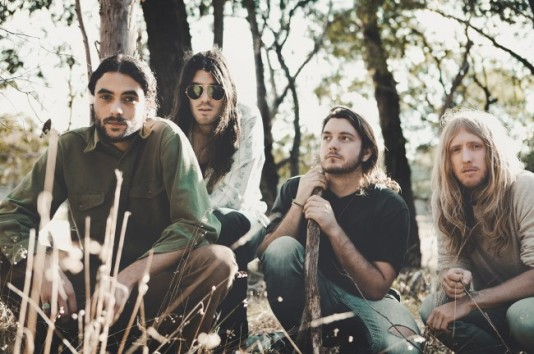SEEING RED: Melbourne four-piece Redcoats have released a superb debut album.