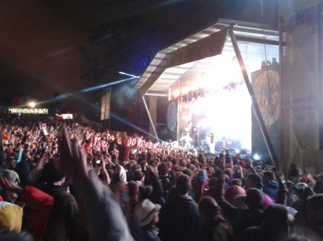 Falls Festival 2012. New Year's Eve. Coolio welcomes 2013.