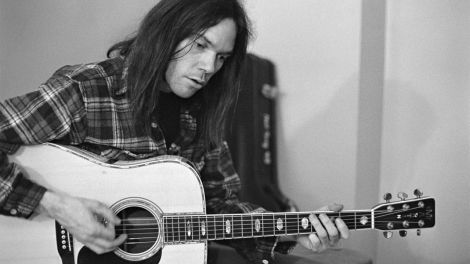 PEACE MONGER: Neil Young gives us a beautiful insight into his mind in his first autobiography.
