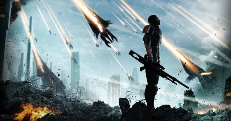 REAPERS ATTACK: The detail in the action sequences of Mass Effect never fails to stun.