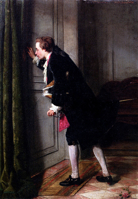 'Peeping Tom' by Jean Carolus,