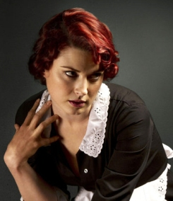 MAID OF HORROR: Alexandra Breckenridge is sinful as the young, prettier maid Moira.
