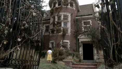 SPOOKY HOUSE: The central location of American Horror Story - the infamous Murder House.