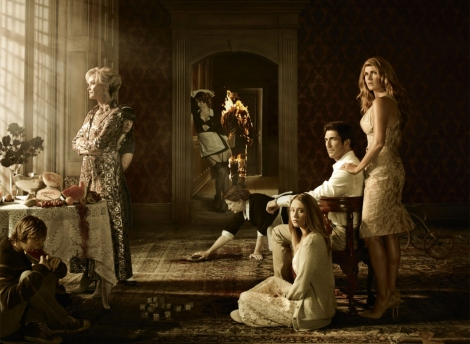 GUILTY PLEASURE: American Horror Story: Murder House is a bloody mess - but it's hard to look away.