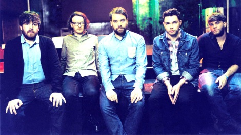 PEDESTRIAN CROSSING: Frightened Rabbit have released their fourth record - Pedestrian Verse.