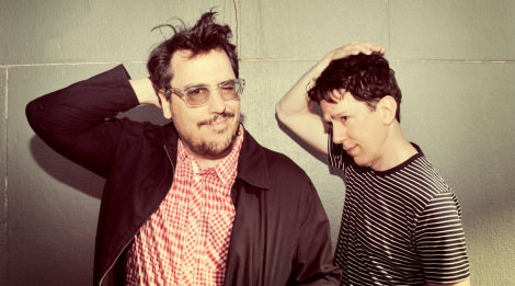 MIGHTY MUSIC: John Flansburgh and John Linnell of They Might Be Giants.