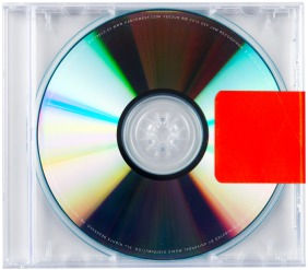 CAN'T BE COVERED: Yeezus by Kanye West.