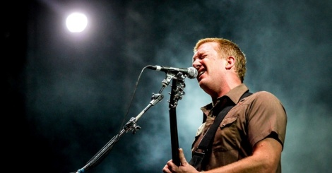 ROCK ROYALTY: Queens of the Stone Age frontman Josh Homme.