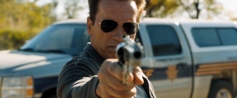 HE'S BACK: Arnold Schwarzenegger returns to what he does best in The Last Stand.