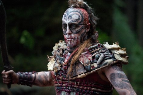 CANNIBAL ATLAS: Finally! We get to see Hugh Grant portray a cannibal tribesman.