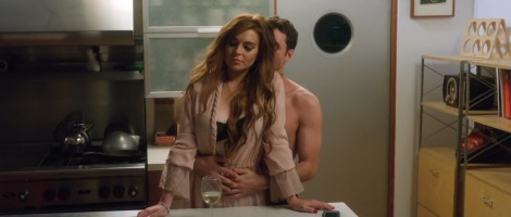 INSIDE HOLLYWOOD: Lindsay Lohan and James Deen in The Canyons.