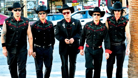 GIMMES ALL YOUR LOVIN': Me First and the Gimme Gimmes - the world's greatest cover band - have evergreen popularity.