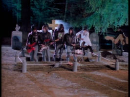 ANIMAL INSTINCTS: The Ramones state very clearly that they do not wish to be buried in a pet sematary - a fair request, given that they are humans.