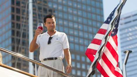AMERICAN DREAM: Leonardo DiCaprio in The Wolf of Wall Street.
