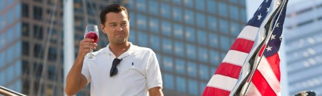 the wolf of wall street review film Australia critic