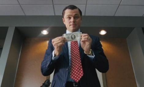 MONEY, A DRUG: The Wolf of Wall Street is about the seduction of financial power.
