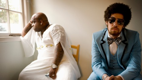 ODD COUPLE: Cee-Lo Green and Danger Mouse of Gnarls Barkley.
