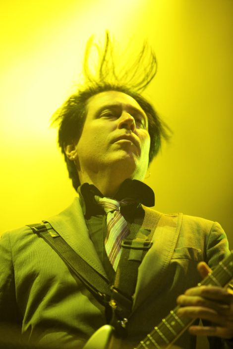 STONE AGE ROMEO: Queens of the Stone Age guitarist Troy Van Leeuwen.