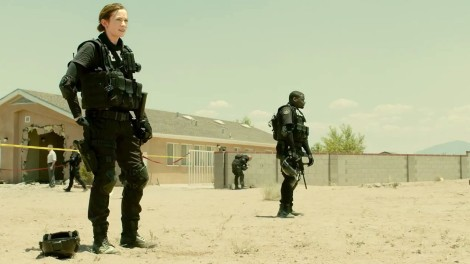 The streets of Juarez, Mexico, as depicted in Sicario