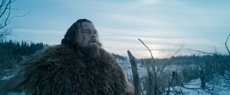 "This photo provided by Twentieth Century Fox shows, Leonardo DiCaprio in a scene from the film, ""The Revenant."" DiCaprio and director Alejandro Gonzalez Inarritu talked to Associated Press about braving the extremes to create the survival and revenge epic ""The Revenant."" The movie opens in U.S. theaters on Jan. 8, 2016. (Twentieth Century Fox via AP)"