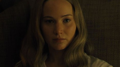 Jennifer Lawrence in Mother!  Credit: Paramount Pictures