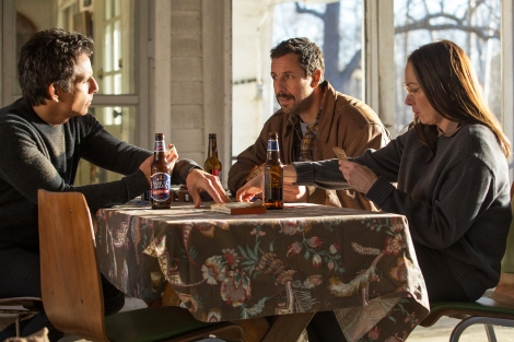 the meyerowitz stories review netflix cast best movies