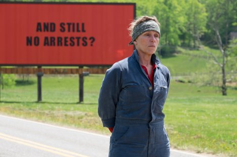 Three Billboards Ebbing Best Movies Films of 2018 year
